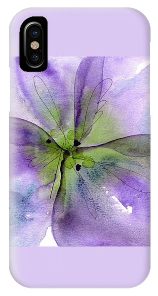Pansy 1 IPhone Case