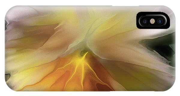 Pansy Art IPhone Case