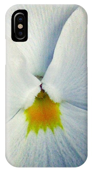 Pansy Flower 19 IPhone Case