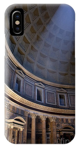 IPhone Case featuring the photograph Pantheon Interior by Brian Jannsen