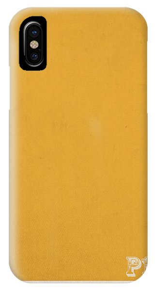Mustard iPhone Case - Pantone 143 Mustard Yellow Color On Worn Canvas by Design Turnpike