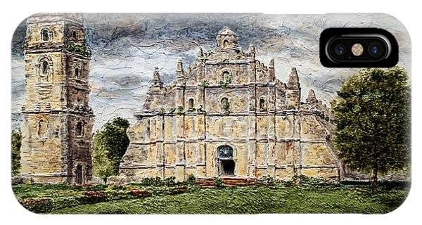 Paoay Church IPhone Case