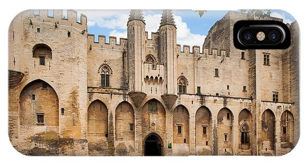 Papal Castle In Avignon IPhone Case