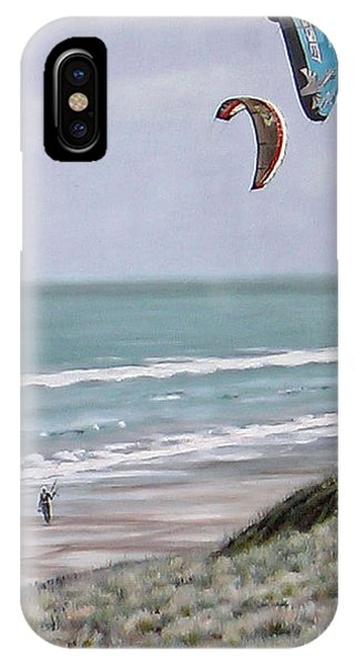 Papamoa Beach 090208 IPhone Case