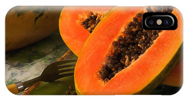 Papaya IPhone Case