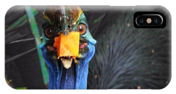 Papaya Tastes Good Phone Case by Debbie Cundy