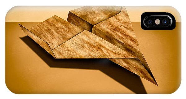 Paper Airplanes Of Wood 5 IPhone Case