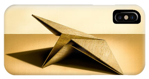 Jet iPhone Case - Paper Airplanes Of Wood 7 by YoPedro