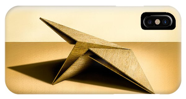 Paper iPhone Case - Paper Airplanes Of Wood 7 by YoPedro