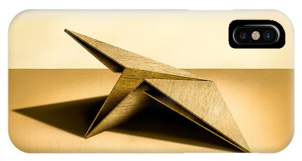 Paper Airplanes Of Wood 7 IPhone Case