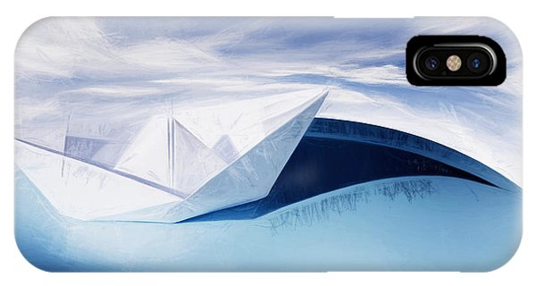 Navigation iPhone Case - Paper Knots And Cardboard Seas by Jorgo Photography - Wall Art Gallery