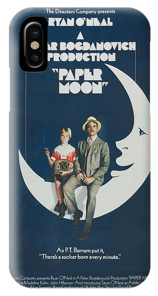 Beam iPhone Case - Paper Moon by Georgia Fowler