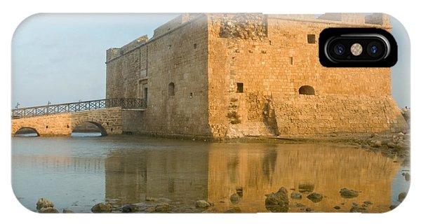 Paphos Harbour Castle IPhone Case