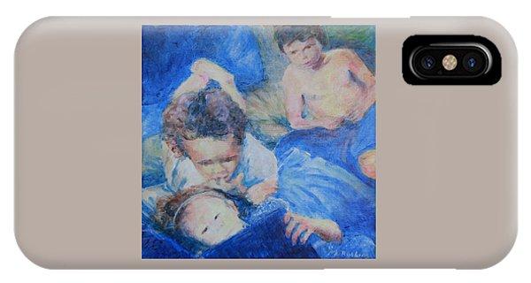Papo's Putti IPhone Case