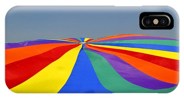 Parachute Of Many Colors IPhone Case