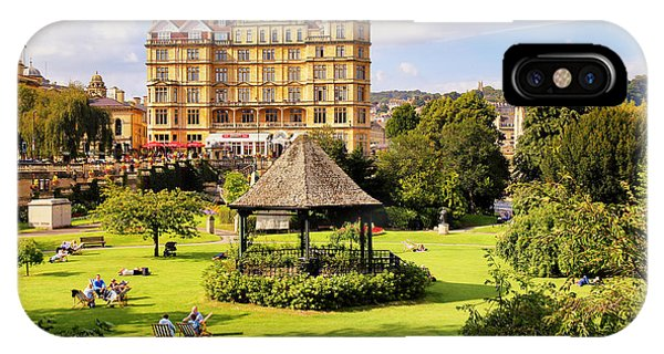 IPhone Case featuring the photograph Parade Gardens Bath by Michael Hope