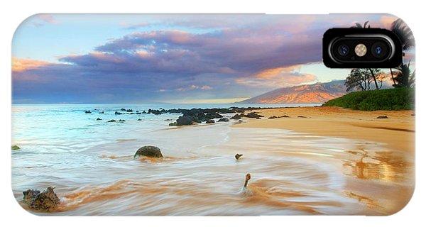 Palm Trees iPhone Case - Paradise Dawn by Mike  Dawson