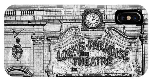 Paradise Movie Theatre IPhone Case