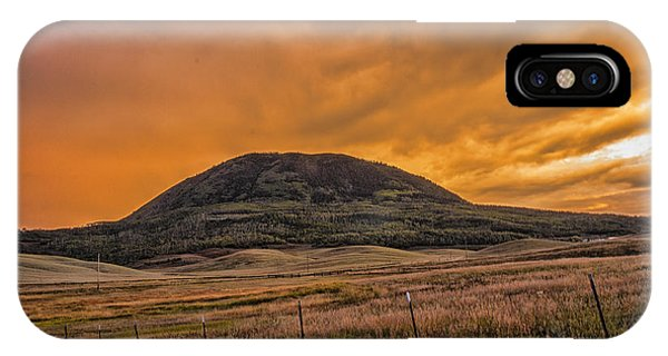 Paradise On Elk Mountain Meadows IPhone Case
