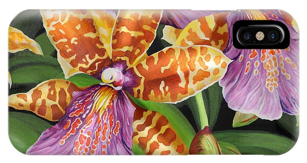 Paradise Orchid IPhone Case