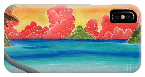 Paradise Panorama IPhone Case