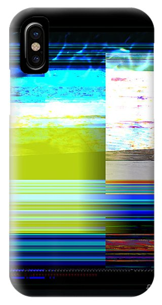 IPhone Case featuring the painting Parallel 1 by Diane Desrochers