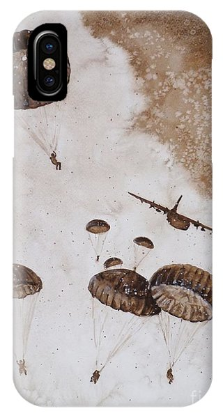 Paratroopers IPhone Case