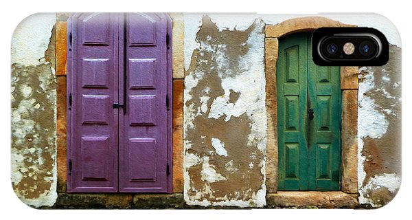 Paraty Doors IPhone Case
