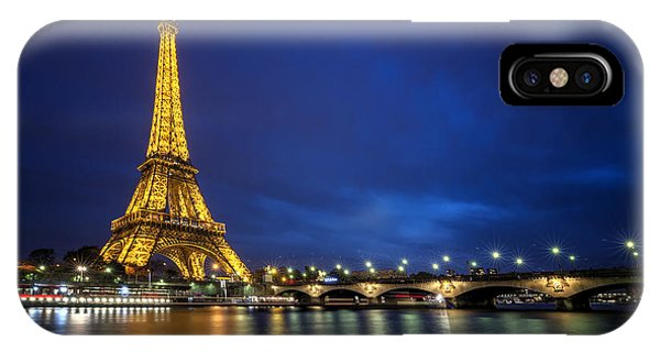 Paris Blues IPhone Case