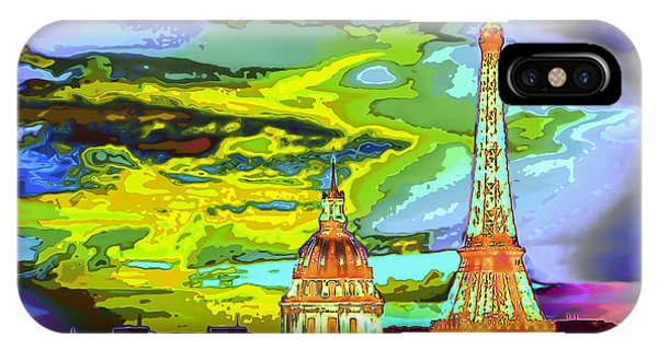 Paris - City Of Lights IPhone Case