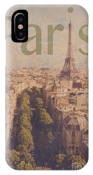 Paris iPhone Case - Paris by Diane Diederich