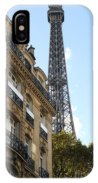 Paris Eiffel Tower IPhone Case