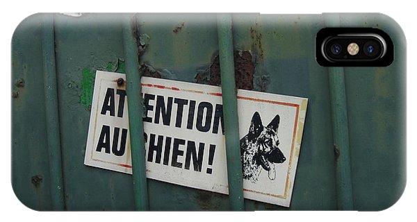 Paris - Farm Dog IPhone Case