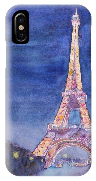 Paris Giant IPhone Case
