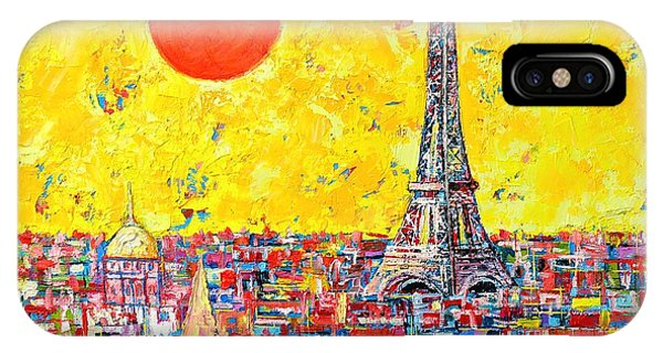 Paris In Sunlight IPhone Case