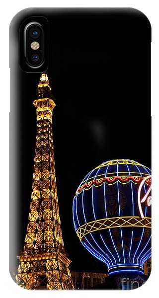 Paris In Vegas IPhone Case