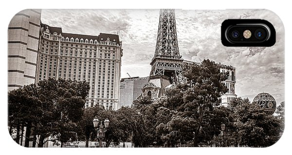 Paris Las Vegas IPhone Case