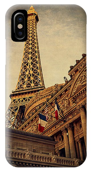 Paris - Las Vegas IPhone Case
