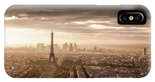 French iPhone X Case - Paris Magnificence by Jaco Marx