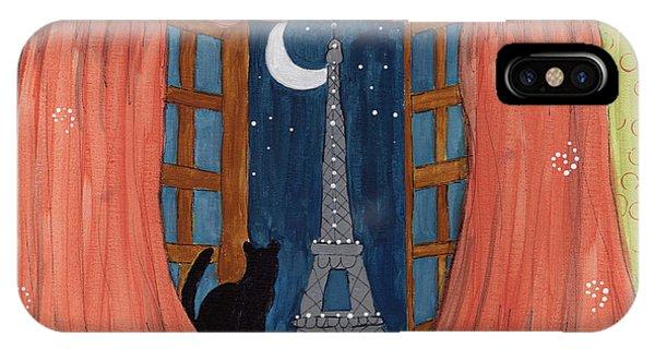 Paris Moonlight IPhone Case
