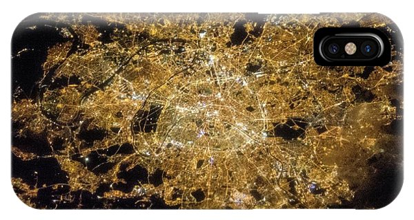 Paris Phone Case by Nasa/science Photo Library