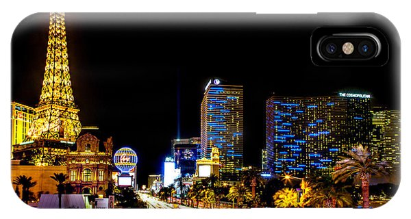 Paris iPhone Case - Welcome To Vegas by Az Jackson