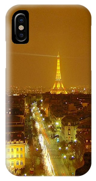 Paris Orange IPhone Case