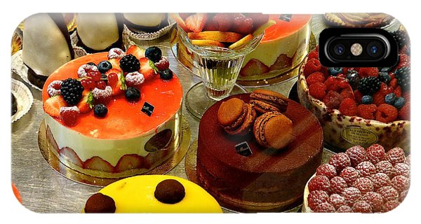 Paris Pastry Pause IPhone Case