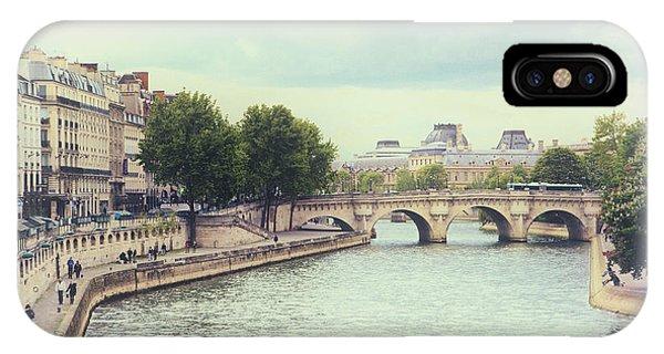 Paris Photography IPhone Case