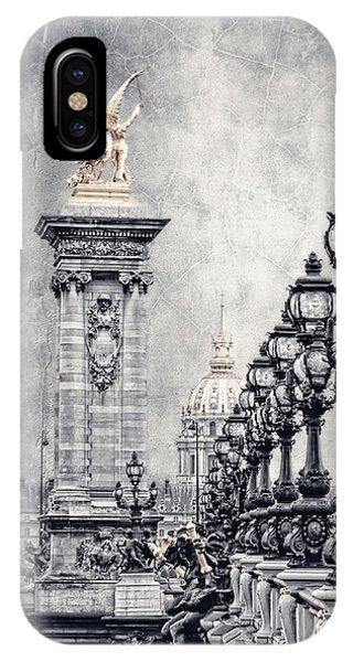 Paris Pompous 2 IPhone Case