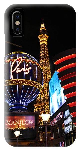 Paris Sign Las Vegas  IPhone Case