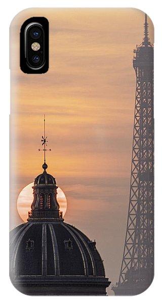 Paris Sunset IIi IPhone Case