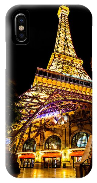 Paris iPhone Case - Paris Under The Tower by Az Jackson
