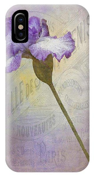 Parisian Purple Phone Case by Chanin Green